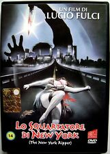 Dvd Lo Ripper New York by Lucio Fulci 1982 Avofilm Used