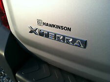 "NEW OEM NISSAN XTERRA REAR GATE / HATCH / DOOR  ""XTERRA"" EMBLEM - CHROME"