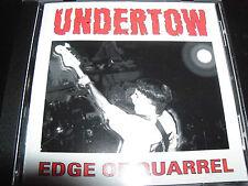 Undertow Edge Of Quarrel CD – Like New