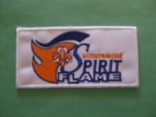 WORLD SCOUTING & GUIDING- SPIRIT FLAME PATCH