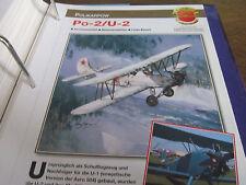Faszination 13 47 Polikarpow Po 2, U 2 Doppeldecker UDSSR