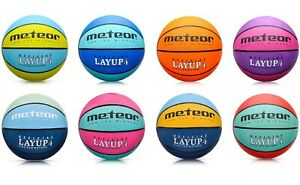 Basketball Kinder Frauen Jugend Größe #4 indoor outdoor Spielball LAYUP meteor