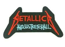 Metallica And Justice For All logo Iron on Sew Embroidered Patch Badge metal