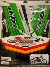 N-Style Shroud Graphics Kit 2004-2005 Kawasaki KX250F Decals Stickers Ultra