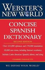 Concise Spanish Dictionary by Chambers Harrap Publishers Staff (2006, Paperback…