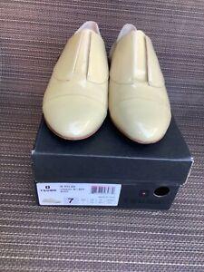 Tsubo faux patent leather flat mules 7