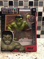 "Jada Toys Die-Cast Metals Green Hulk 4"" Inch Figure Avengers Marvel Comics M58"
