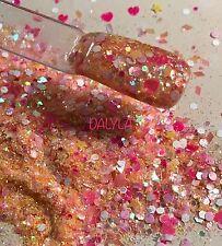 glitter mix nail art acrylic gel    DALYLA