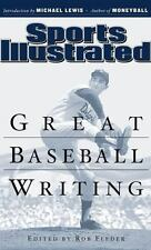 Great Baseball Writing by Sports Illustrated Editors (2005, Hardcover)