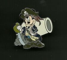 Pirate Mickey Mouse with Cannon Splendid Disney Pin