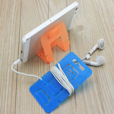 10*Supports Téléphone plastique pliage nouveau mignon petit unique maison chaud
