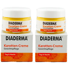 Diaderma KAROTTEN CREME Gesichtspflege 2 x 50 ml Tag & Nacht TOP ANGEBOT