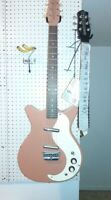 Danelectro DC2 2002 excellent bundle from Fortmadisonguitars cool copper-korean
