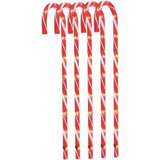 """28"""" Candy Cane Pathway Markers Christmas Decoration Pack of 5"""