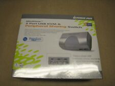 IOGEAR MiniView (GCS102U) 2 Port USB KVM & Peripheral Sharing Switch SHIPS FREE