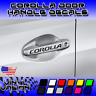4x Corolla 2002-2019 Door Handle Decal Sticker Toyota TRD LE XLE SE XSE