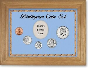 Framed Birth Year Coin Gift Set For Boys, 2014
