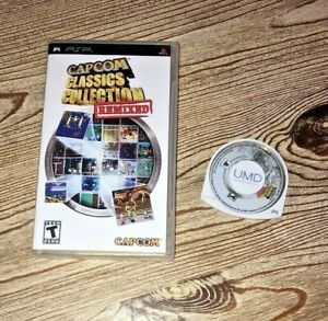 Capcom Classics Collection: Remixed Complete Playstation Sony PSP, 2006