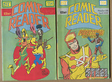 The Comic Reader 15 Issue Lot - Excellent Condition - 1976-1978 Wh