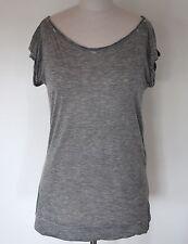 D&G Dolce & Gabbana leichtes T-Shirt aus Modal Gr. S Grau