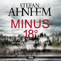 STEFAN AHNHEM: MINUS 18 GRAD - NATHAN,DAVID HÖRBUCH HAMBURG 2 CD-ROM NEW