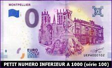 UE PH-1 / MONTPELLIER / BILLET SOUVENIR 0 EURO / 2019-1*