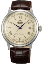 Orient Classic 2nd Gen Bambino Version 2 FAC00009N0 Brown Leather Band Men's