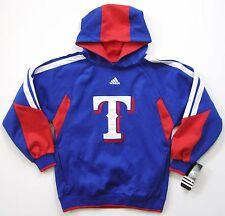 MLB Adidas Texas Rangers Youth Primary Logo Hoodie Jacket