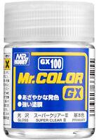MR HOBBY Color GX100 GX-100 Super Clear III Enamel Ultra Fine Quality Paint 18ml