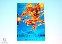 2013 Marvel Fleer Retro Human Torch Blue PMG Precious Metal Gems Card 29/50