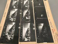 ADAMO À L'OLYMPIA  : PLANCHE CONTACT ORIGINALE DE 1965
