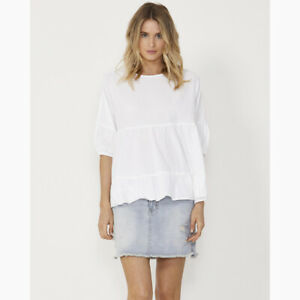 Elsie Top in White by SASS*