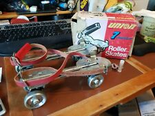Vintage Union Hardware Roller Skates No. 7 w/key and Grease Excellent Condition