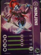 Ninjini Skylander Giants Stat Card Only!