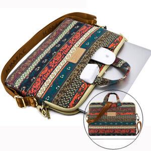 """Laptop Shoulder Bag Notebook Messenger Carrying Case for Macbook Dell 15 15.6"""""""