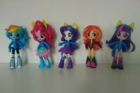 My Little Pony 5 x Mini Equestria Girls Pep Rally bundle incl sunset Shimmer