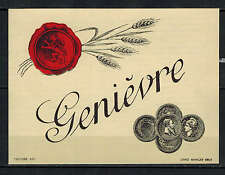Etiquette de Vin - Alcool - Liqueur - Genièvre -  New - Never Stuck - Réf.n°8