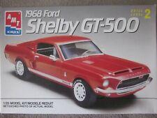 Amt Ertl 1968 Ford Shelby Mustang Gt-500 1:25 Model Kit