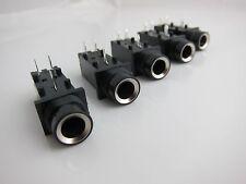 """5PCS 3Pin 1/4"""" 6.35mm Mono Phone Jack / Jack Socket / PCB Mount"""