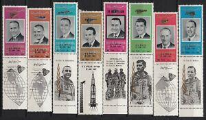 UAE MNH ** full set  RAS AL KHAIMA  1967 emirates space