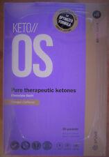 Pruvit Keto OS 3.0 Chocolate Swirl ketone 30 Packet Box CHARGED Caffeine ketosis