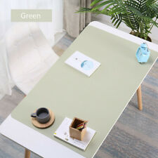 Computer Desk Mat Table  Keyboard Mouse Pad Laptop Cushion Large Leather New.