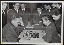 Vintage Photo Chess School, game of chess (1299)