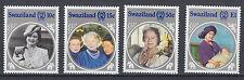 Swaziland 485 - 488 postfrisch 85. Geburtstag Königinmutter Elisabeth