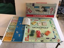Vintage Monopoly Game No. 9 Edition Copyright 1957  Parker Brothers Complete