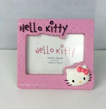 Hello Kitty Sanrio Co Ltd Pink Dotted 3D Photo Frame