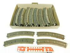 BR626-2# 40x Märklin H0/00/AC Gleisstück/Schiene M-Gleis für 3600/800 2. Wahl