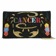 MARY FRANCES~ Zodiac Sign~ Cancer~ Beaded/Embroidered Clutch/Bag~ NWT