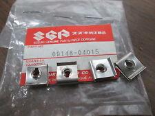 NOS Suzuki Front Fender 4mm Nuts 1983 GSX550 1984 - 1987 LT185 09148-04015 QTY4