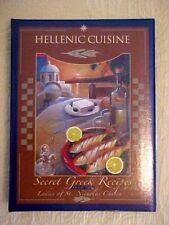 Hellenic Cuisine Secret Greek Recipes St Nicholas Philoptochos Cookbook St Louis